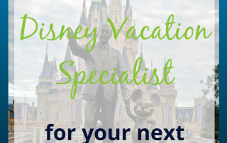 Using a Disney Vacation Specialist can make planning your next family vacation a breeze!