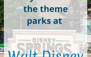 Ideas for your day off from the theme parks at Walt Disney World